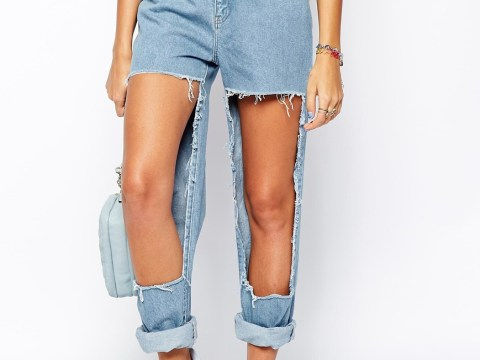 11 pairs of ripped jeans which have gone too far