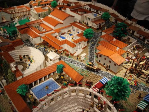 This man just blew all other Lego creations out of the water with his Pompeii masterpiece