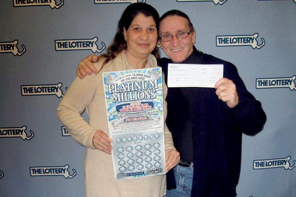 Man wins $10million lottery jackpot after purchasing two tickets to break a $100 note