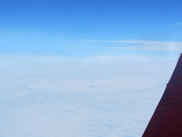 Has a meteorite crater been spotted in Antarctica?