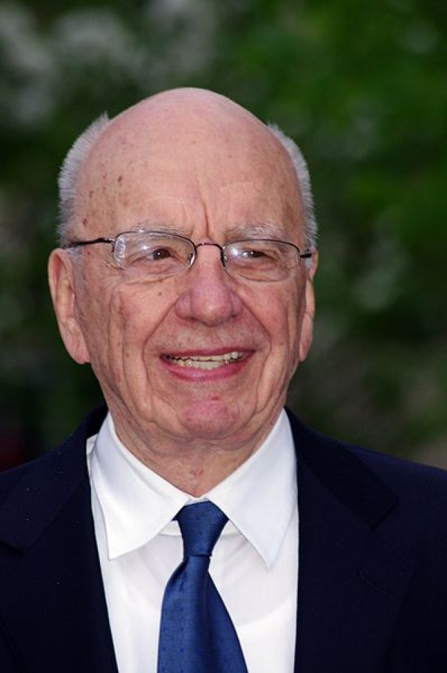 Rupert Murdoch made the questionable remark on Twitter (Picture: Wikicommons)