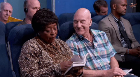 The most annoying airline passengers, as acted out by Sir Patrick Stewart