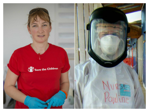 Pauline Cafferkey, the British nurse infected with Ebola, is showing 'signs of improvement'