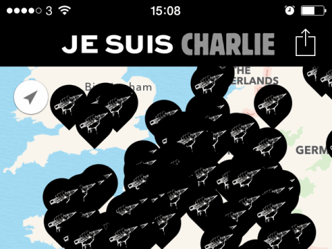 Apple had a 'Je Suis Charlie' app out within an hour of the Charlie Hebdo massacre