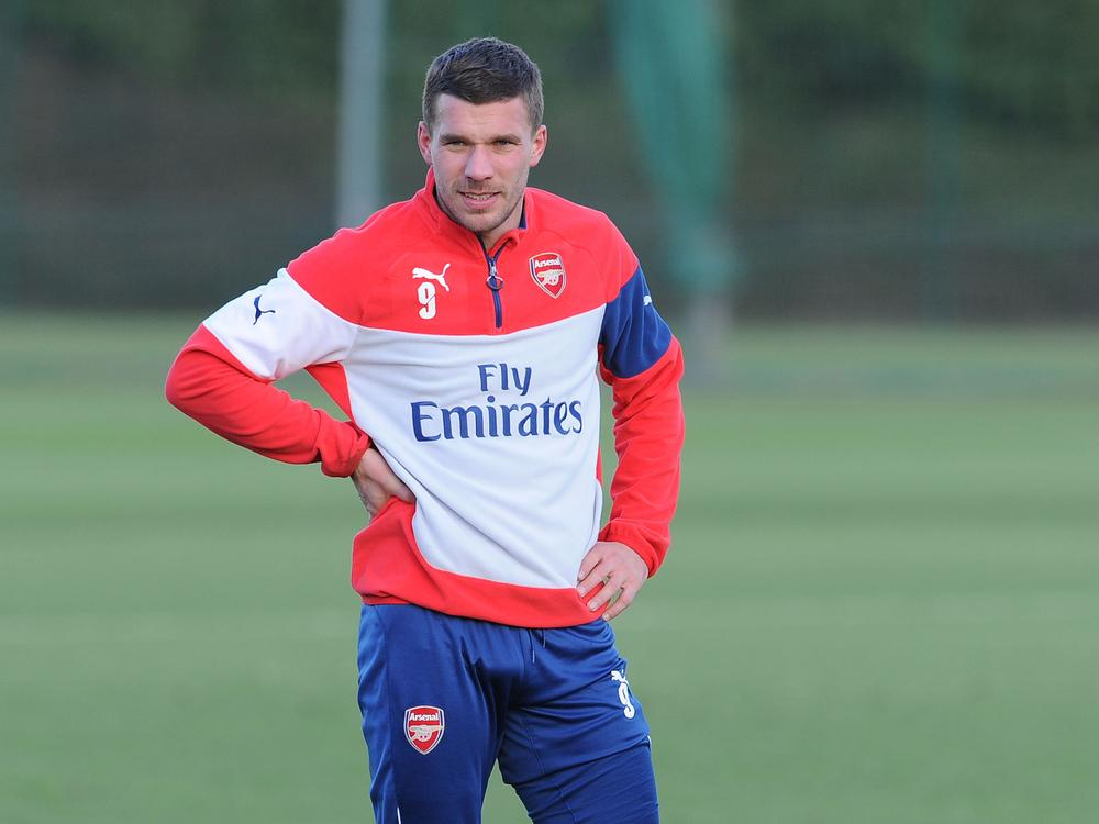 Arsene Wenger hints Arsenal's Lukas Podolski could be set for January Inter Milan transfer