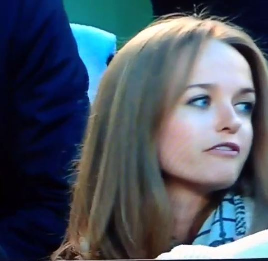 Andy Murray's fiancée Kim Sears doesn't appear to be Tomas Berdych's biggest fan…