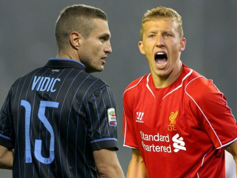 Liverpool 'offered Nemanja Vidic in shock Lucas Leiva transfer deal'