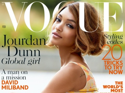 Jourdan Dunn 'so happy' to be British Vogue's first black solo cover star in 12 years
