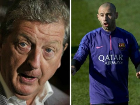 England manager Roy Hodgson snubs Cristiano Ronaldo and Lionel Messi for Javier Mascherano in 2014 Ballon d'Or vote