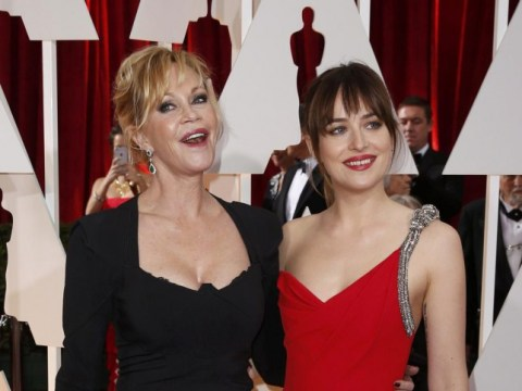 Oscars 2015: Red carpet tension as Melanie Griffith admits she hasn't seen daughter Dakota Johnson in Fifty Shades Of Grey
