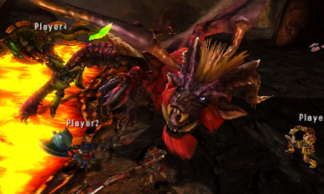 Monster Hunter 4 Ultimate (3DS) - imagine Destiny with swords