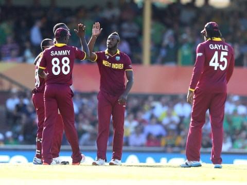 Jerome Taylor takes amazing one-handed catch but South Africa crush West Indies at Cricket World Cup