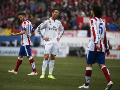 Real Madrid president Florentino Perez 'conducts inquest' into Atletico Madrid loss as fans greet partying players with banner