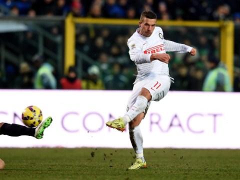 Lukas Podolski: I will return to Arsenal from Inter Milan loan spell in summer