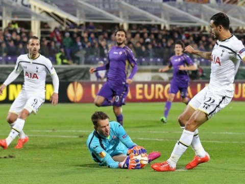 Watch Roberto Soldado totally mess up goalscoring chance during Tottenham Hotspur's Europa League loss to Fiorentina