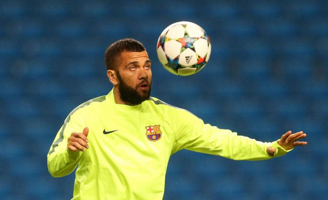 Manchester United transfer target Dani Alves 'could stay' with Barcelona next season, hints Luis Enrique