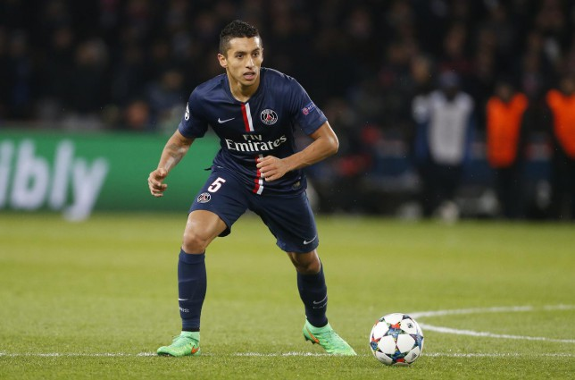 Marquinhos has reportedly attracted the interest of Manchester United