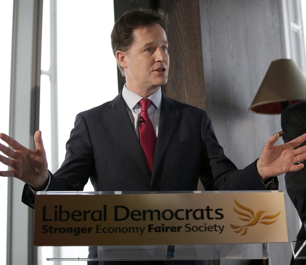 Nick Clegg dismisses 'bilge' poll that says he will lose his parliamentary seat