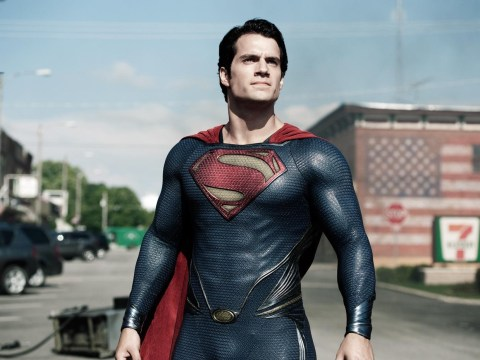 Here's Henry Cavill wearing Christopher Reeve's original Superman suit in his Man Of Steel audition