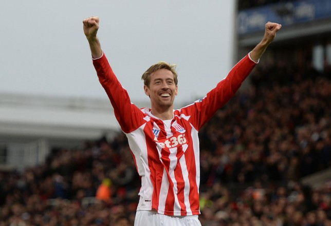 Peter Crouch is now the joint-highest goalscorer from headers in the Premier League