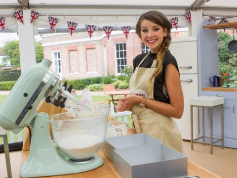 Zoella is on Great Comic Relief Bake Off tonight and the internet can't handle it