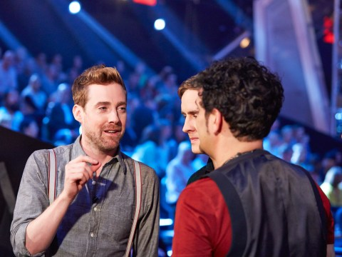 The Voice's Ricky Wilson gets punched in the face during battles round