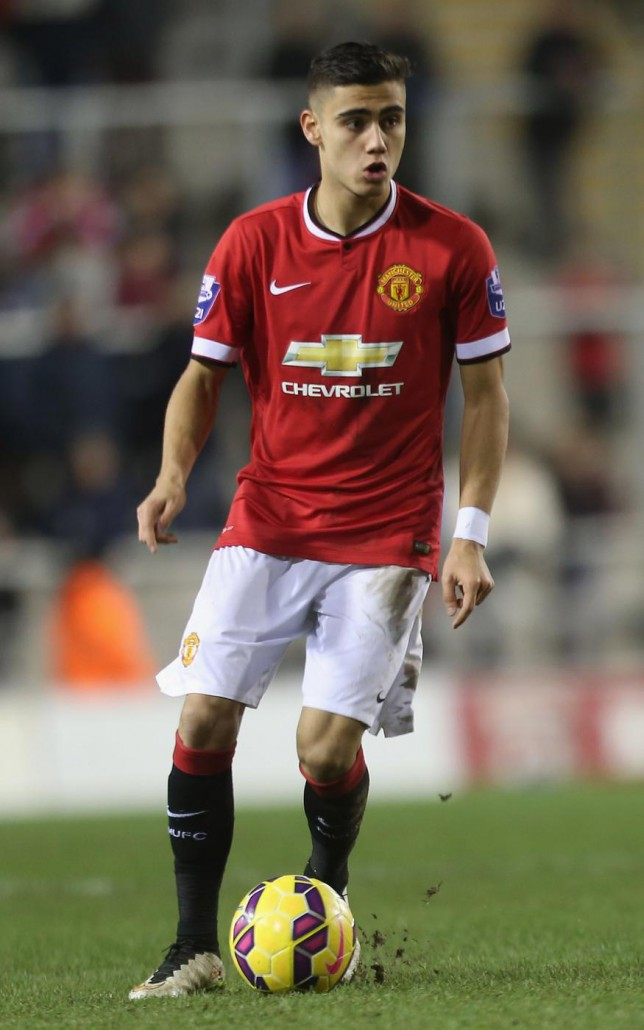 Andreas Pereira could leave Manchester United this summer