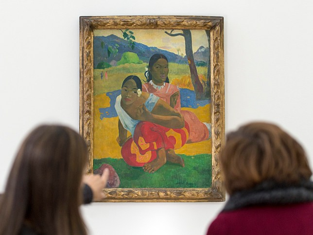 'Nafea faa ipoipo' (When will you marry?, 1892) by French painter Paul Gauguin (Picture: EPA)