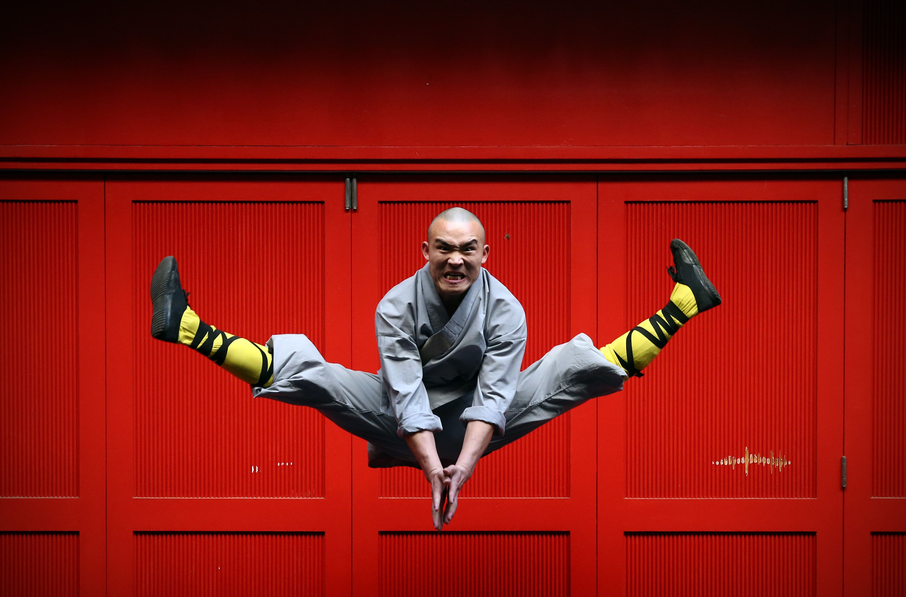 Pictures: World famous Shaolin Monks come to London's Chinatown