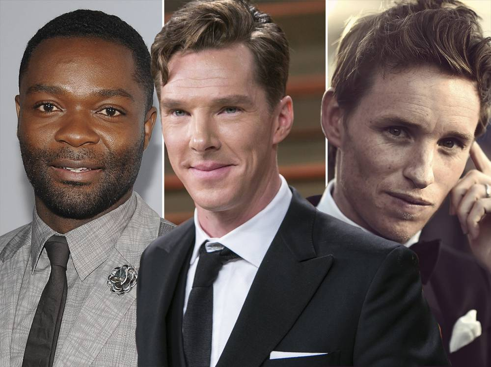 David Oyelowo: Eddie Redmayne and Benedict Cumberbatch can stay in Britain and act because they're white