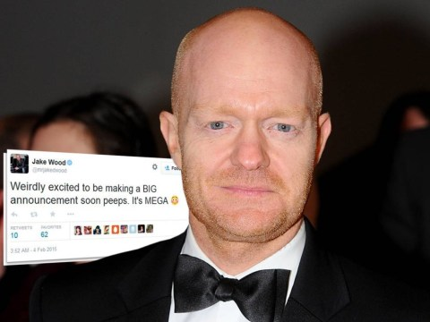 Did Max Branning kill Lucy Beale? Jake Wood sparks speculation after hinting at 'big announcement' on Twitter