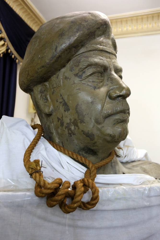 The rope Saddam Hussein was hanged with is 'to be sold for more than £4.6 million'
