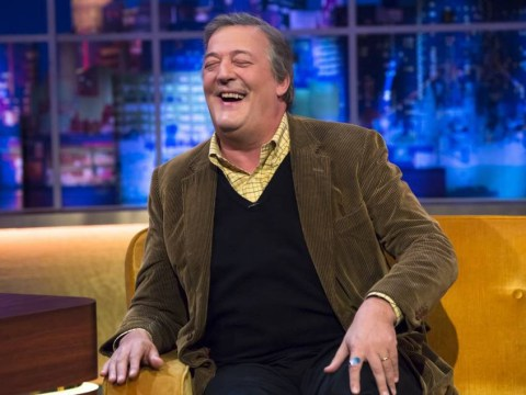 Stephen Fry pokes fun at age gap with husband Elliott Spencer: 'He's got more life to go than me'