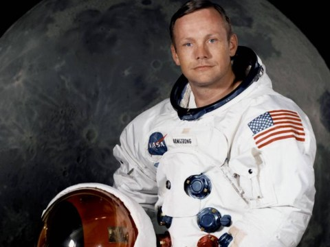 What did Neil Armstrong 'steal' from the moon?