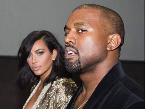 Kanye West declares 'I'm so lucky' as he posts naked pictures of wife Kim Kardashian on Twitter