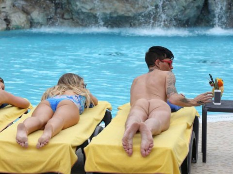 TOWIE's Bobby Norris has done it AGAIN – this time sunbathing butt-naked