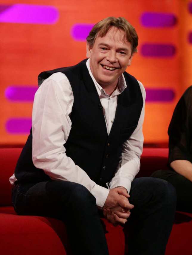 Guest Adam Woodyatt during filming of a special episode of the Graham Norton Show to celebrate 30 years of EastEnders, at the London Studios, south London, which will be aired on Monday 16th February. PRESS ASSOCIATION Photo. Picture date: Sunday February 8, 2015. See PA story SHOWBIZ EastEnders. Photo credit should read: Yui Mok/PA Wire