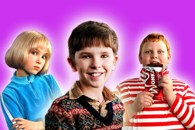 Here's what the kids from Charlie and the Chocolate Factory look