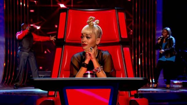 Rita Ora The Voice UK (Picture: BBC)