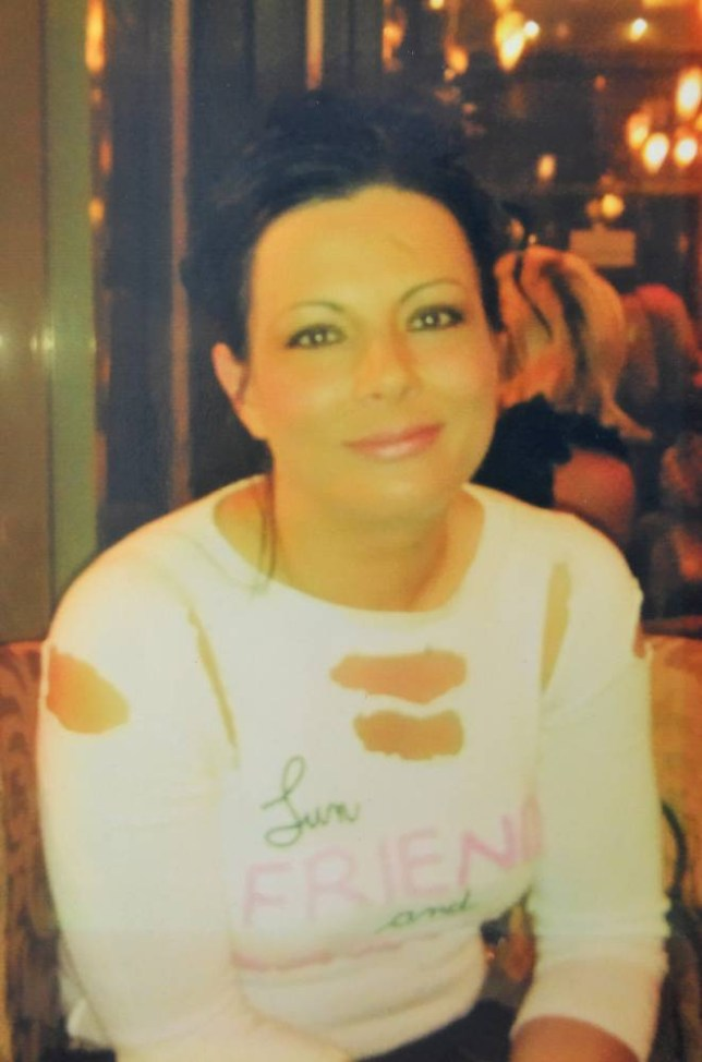 Pictured - Collect of Julie McCabe who was 38 when she had an allergic reaction to hair dye. She fell into a coma and died a year later. See Ross Parry copy RPYHAIRDYE. The inquest into the death of Julie McCabe is today.