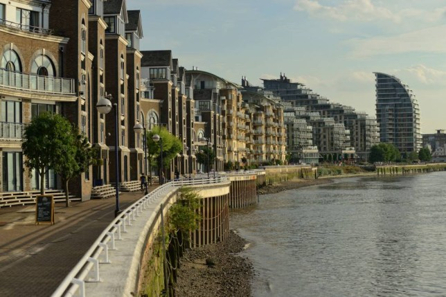 There is plenty of upmarket accommodation on the waterfront in Wandsworth (Pic: supplied)