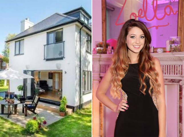 YouTube stars Zoella and Alfie Deyes just bought a £1 million house in Brighton