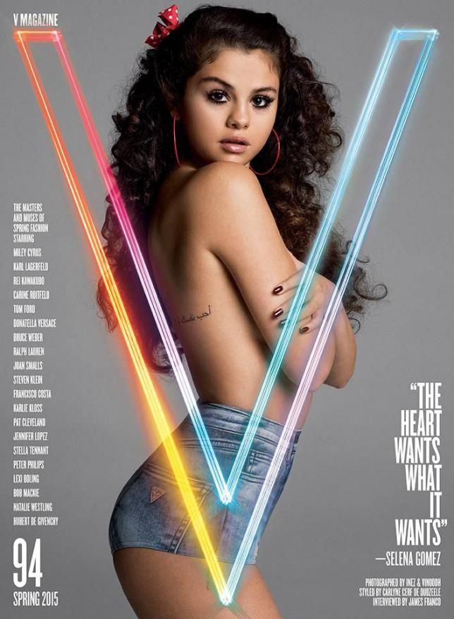 Selena Gomez channels Lolita in rather creepy magazine shoot