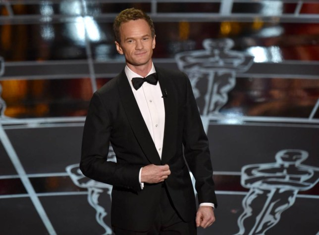 Host Neil Patrick Harris speaks at the Oscars on Sunday, Feb. 22, 2015, at the Dolby Theatre in Los Angeles. (Photo by John Shearer/Invision/AP)