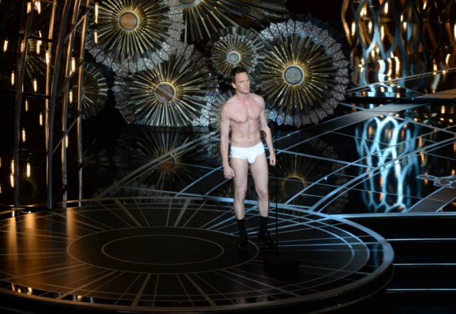 Host Neil Patrick Harris is seen on stage at the 87th Oscars February 22, 2015 in Hollywood, California. AFP PHOTO / Robyn BECKROBYN BECK/AFP/Getty Images