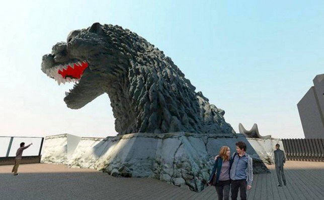 There's a Godzilla-themed hotel opening in Japan – hands up who wants to go there?