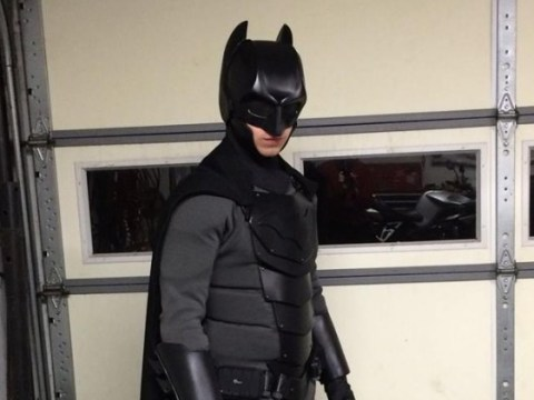 This Philadelphia student has made himself an amazing fully functional Batsuit…