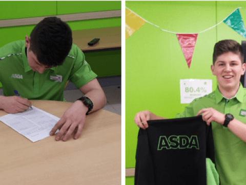 Man renews Asda contract, Twitter goes mad