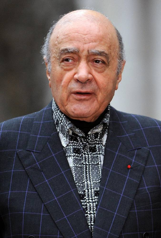 Mohamed Al Fayed, whose stake in the income from an oilfield under his Surrey home has been taken away by appeal judges. PRESS ASSOCIATION Photo. Issue date: Monday June 15, 2009. At the High Court last year, the multimillionaire owner of Harrods was awarded 9% of the proceeds from the tiny field since 2000 and the same percentage of future income. See PA story COURTS Oil. Photo credit should read: Fiona Hanson/PA Wire File photo dated 10/01/2008 of