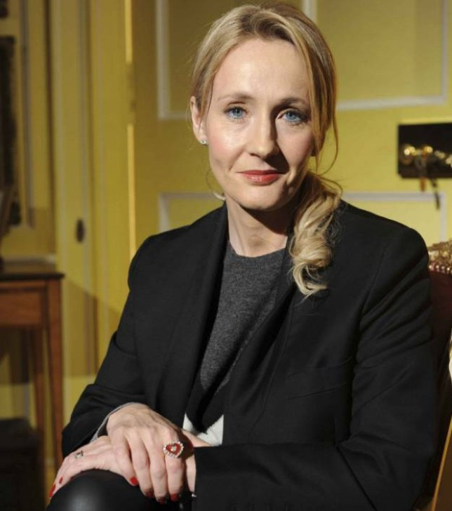 J.K. Rowling  (Picture: Getty)